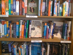 The Bookshevles at SF's Get Lost Bookstore are a Mixture of Travel Guide, Essay, & Narrative
