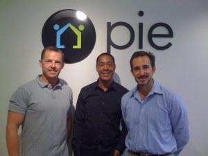 Pie Founders (L to R): Jeff Hansen, John Barnhill, & Drew Banks