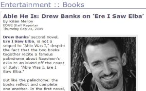 First published Interview re: Ere I Saw Elba