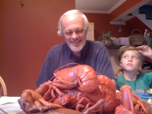 Mike's 60th Birthday Dinner: Whne in Maine, ...