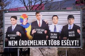 Hungary Election Poster