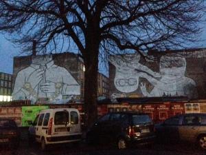 Cuvrystraße Street Art